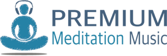 Premium Meditation Music Logo
